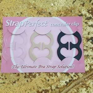 Strap Perfect concealer clips